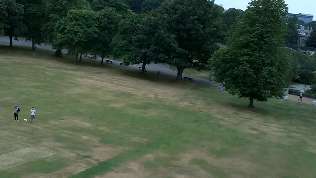 DJI Phantom Quadcopter Flight