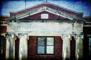 Cliffside School Texture