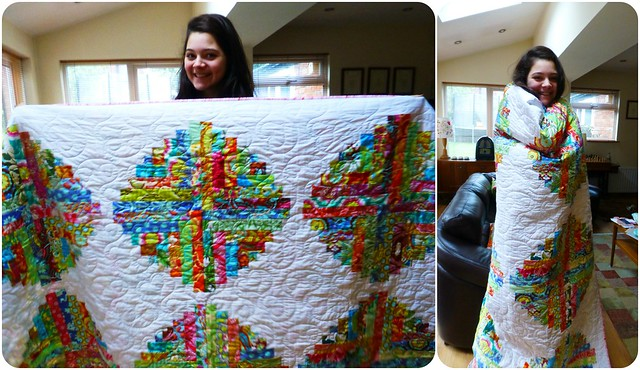 Shannon's 18th Birthday Quilt Oct13