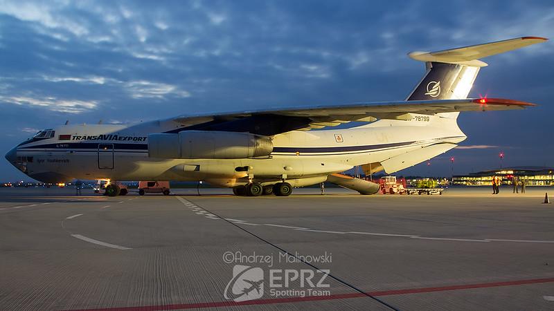 Trans Avia Export Cargo Ilyushin Il76TD