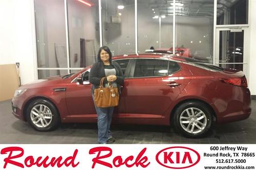 Thank you to Christina Rodriguez on your new 2013 #Kia #Optima from Roberto Nieto and everyone at Round Rock Kia! #NewCarSmell by RoundRockKia