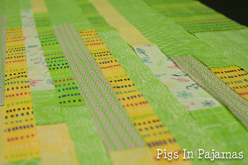 Baby quilt fabric