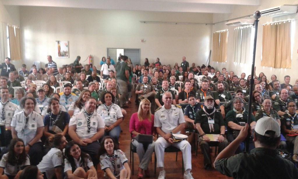 Congresso Escoteiro Estadual reúne 300 escoteiros em Paranaguá 7