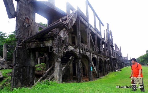 More World War II ruins