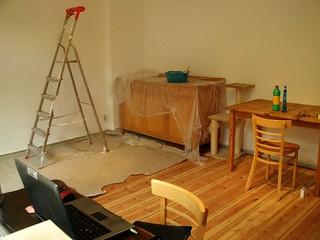 Fortschreitende Renovierung 2