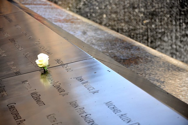 World Trade Center, 9/11 Memorial.  New York, NY.