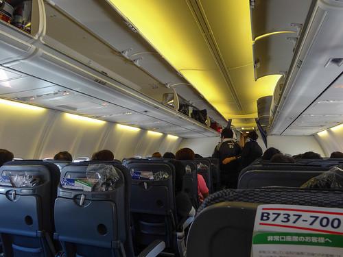 B737-700の機内