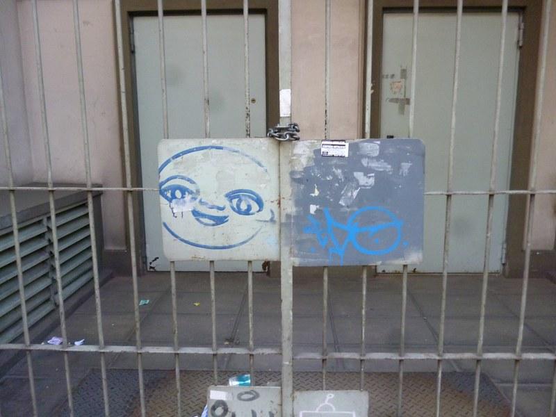 Vandalism or smiley street art?