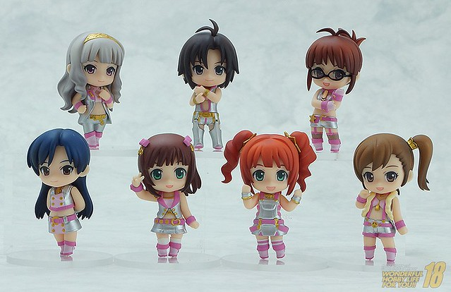Nendoroid Petite: The IDOLMASTER 2 Million Dreams version Set 01