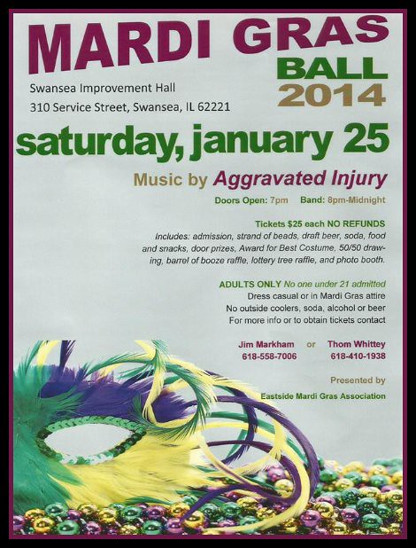 Mardi Gras Ball 1-25-14