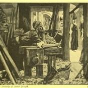 Phillip Medhurst presents 409/740 James Tissot Bible c 1900 The anxiety of Saint Joseph
