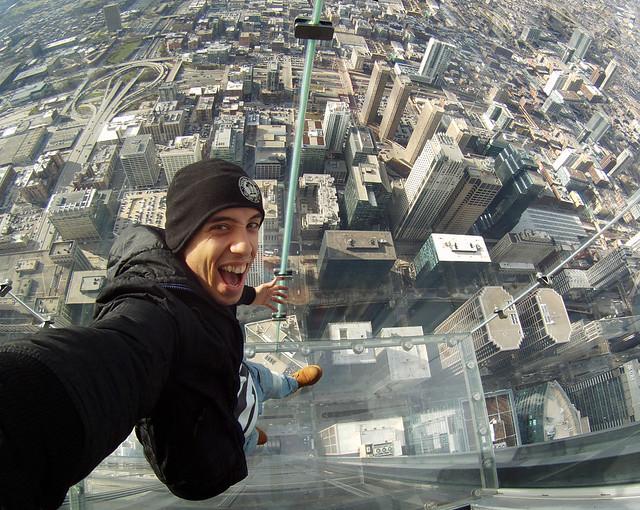 Skydeck mirador de la Willis Tower Miguel Egido