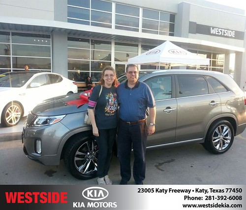 Thank you to Marina Guevara on your new car  from Rubel Chowdhury and everyone at Westside Kia! by Westside KIA