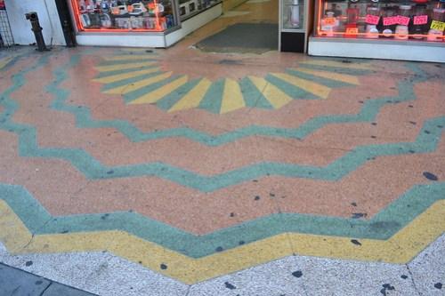 entrada de mosaico a cameo theater