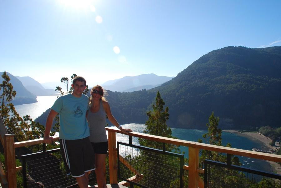 Mari y yo en San Martín de los Andes