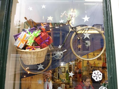 Santa's bicycle