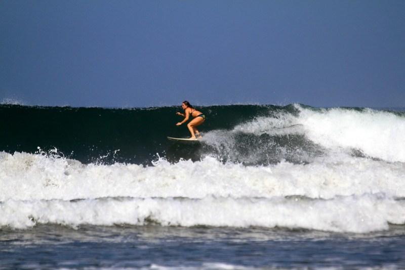 Surfing Nosara