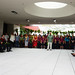 Hundreds attended the official grand opening of Hale'ōlelo, the new home of theUH Hilo Ka Haka 'Ula O Keæelikōlani College of Hawaiian Language on Saturday, January 11, 2014. Associate Professor Hiapo Perreira gave the opening speech in Hawaiian on behalf of the college.