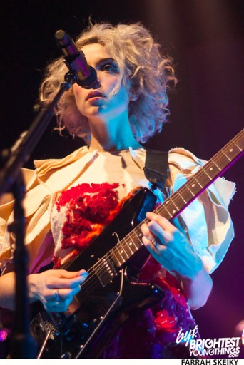 St Vincent 930 Club DC Brightest Young Things Farrah Skeiky 17