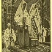 """James Tissot Bible c 1900 The betrothal of the Holy Virgin and Saint Joseph from """"La Vie de Notre Seigneur Jésus Christ"""