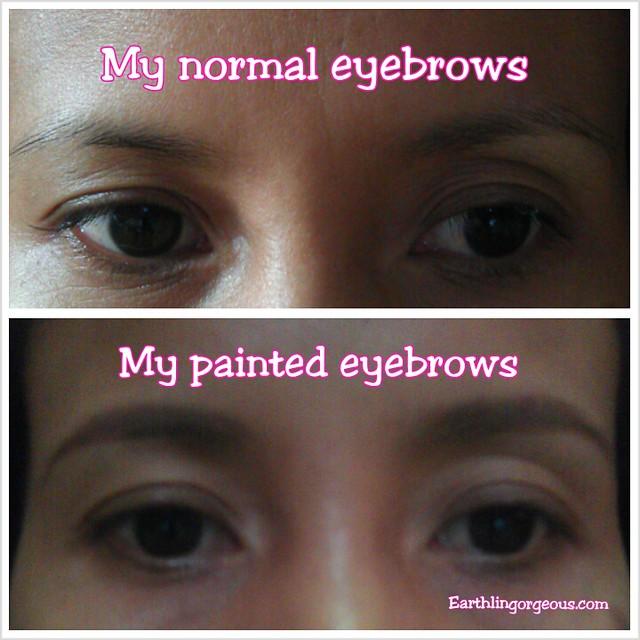 K-Palette Eyebrow Pen vs  Makeup Factory Eyebrow Highlighter Review