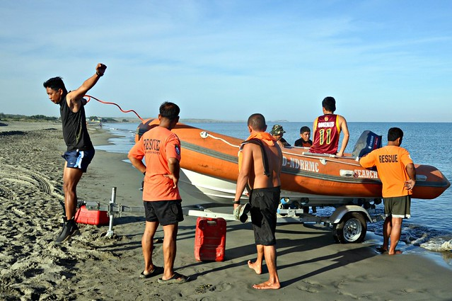 Search and Rescue Rubber Boat Operation Class 07- 2013