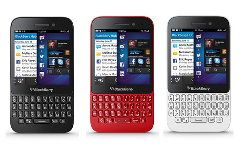 Blackberry Q5: La Reinvencion de RIM