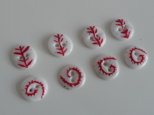Handmade Clay Buttons