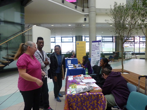 Archives+ event, Manchester Metropolitan University International Students' Day, September 18th 2013