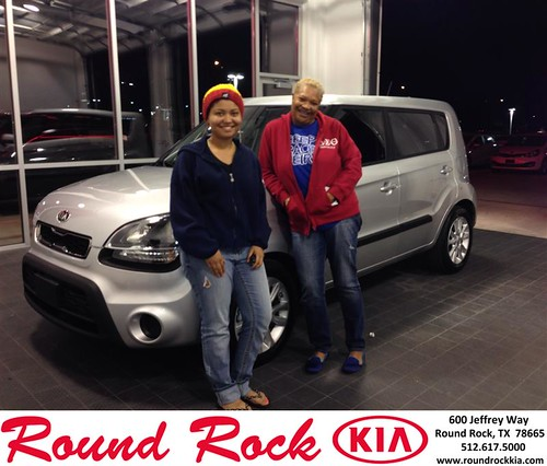 Thank you to Shy Simpson on your new 2013 #Kia #Soul from Marissa Garza and everyone at Round Rock Kia! #NewCar by RoundRockKia