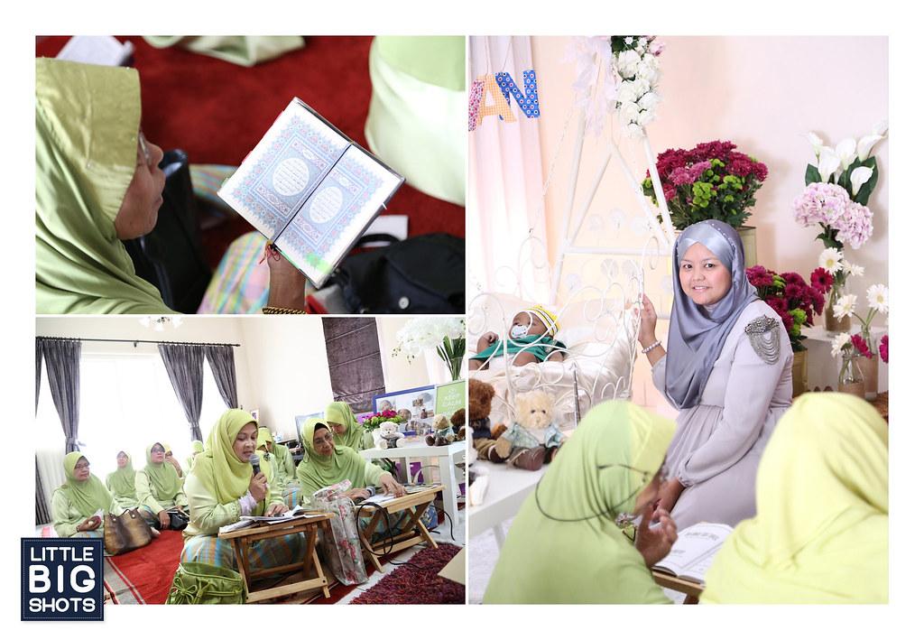 Majlis Aqiqah & Cukur Jambul Muhammad Ivan Qaizer
