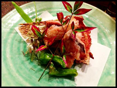 Fried Okoze (Scorpion Fish)