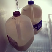 Yep, it's confirmed. I'm a #milk-aholic.