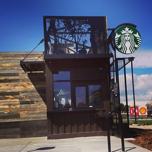Starbucks Walkup #denver by @MySoDotCom