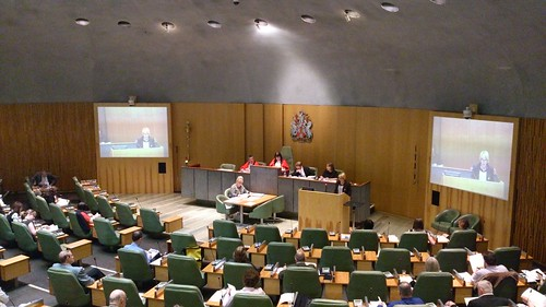 Katja speaking at full council 3 July 2013