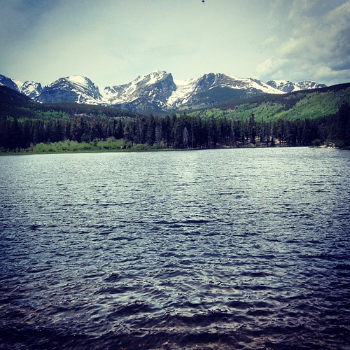 Bear Lake #rockymountains #colorado by @MySoDotCom