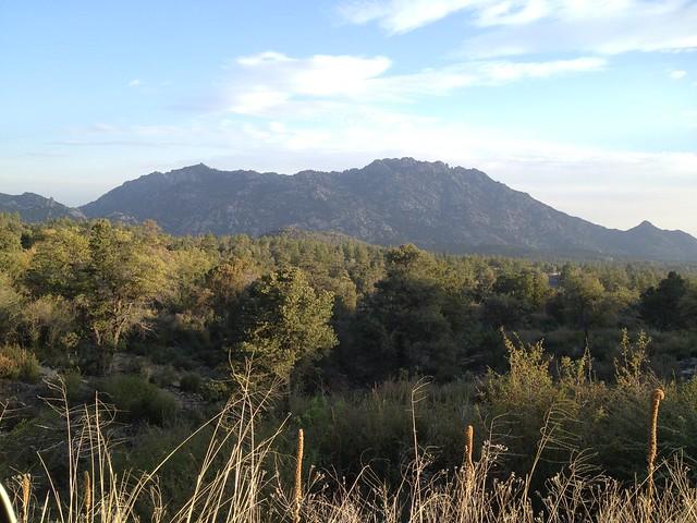 Picture from Granite Mountain, Arizona