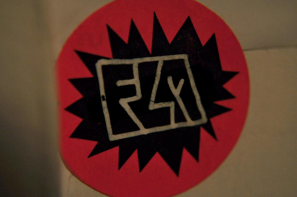 FLM mini sticker