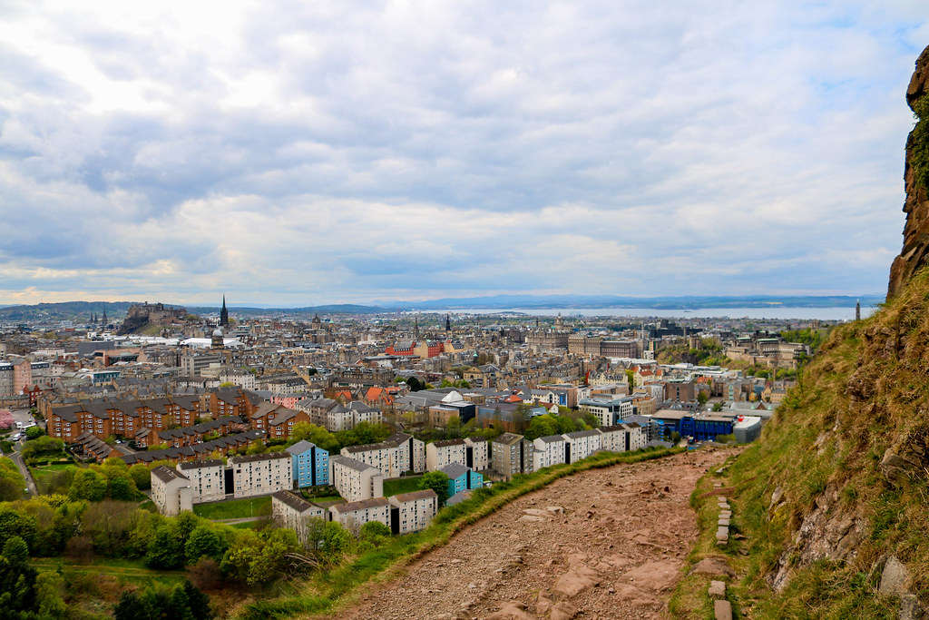 Edinburgh Holyrood Park, where to stay in edinburgh