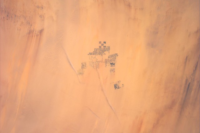 Space Invaders in the desert?