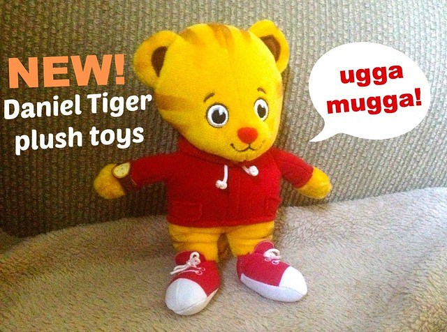 New! Daniel Tiger plush toys #PBSKIDS