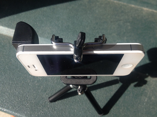 Top View with Magnet Stick-on Spy Lens (90°) Periscoping Lens