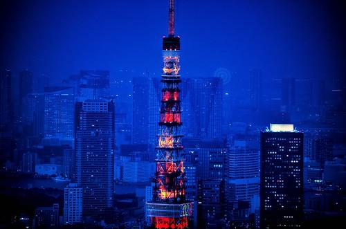 Tokyo Tower by hidesax