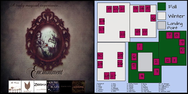 Logo and Map from Enchantment