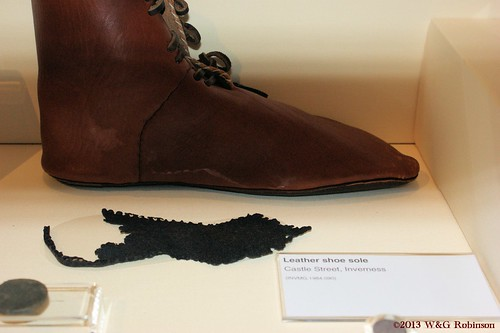 Leather shoe sole