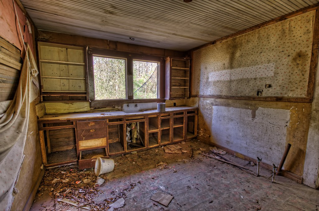 Abandoned House - The Kitchen