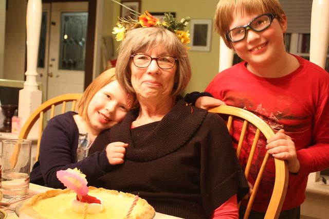 Mom, Clark, & Tabby