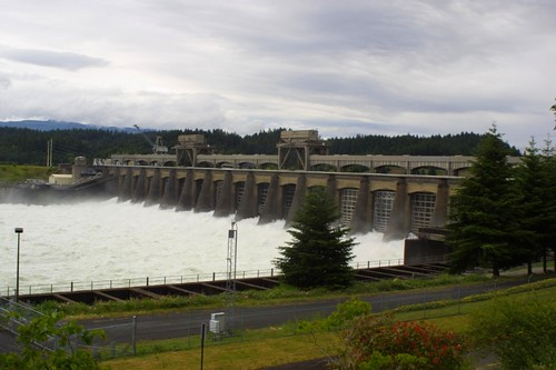 Bonneville Dam spillway