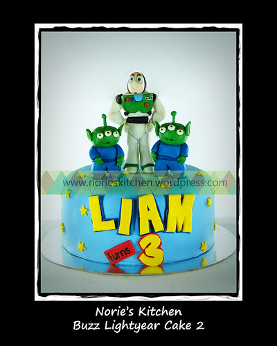 Norie's Kitchen - Buzz Lightyear 2 Cake by Norie's Kitchen