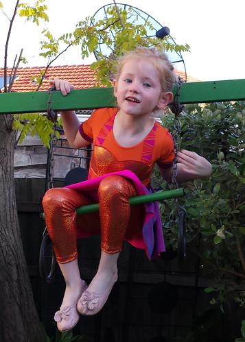 "Stella the ""trapezist"""